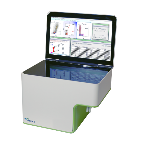 Sysmex CyFlow Cube 6  compact, bench-top flow cytometry analyzer